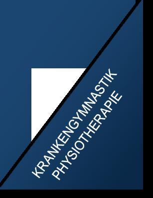 Krankengymnastik und Physiotherapie im Therapiezentrum Stormarn